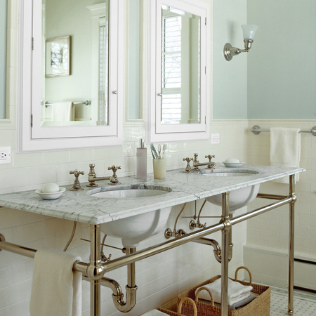 INEXPENSIVE BATHROOM MAKEOVER TIPS - YAHOO! VOICES - VOICES.YAHOO.COM
